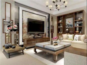 【保利大家】新中式风格中式风格三居室