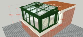 D7231上海阳光房设计效果图简