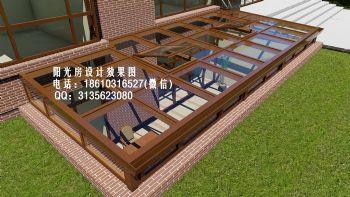 D7522北京阳光房设计效果图