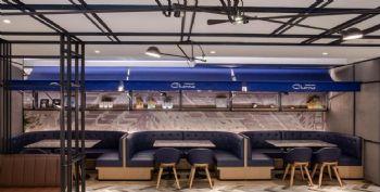 上海港丽餐厅餐馆装修图片