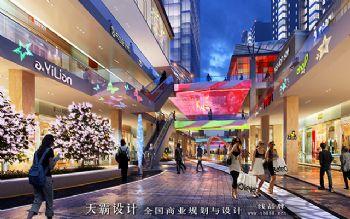 步行街设计效果图理念前沿创意新颖|天霸设计分享