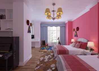 天鹅湖小镇现代风格儿童房