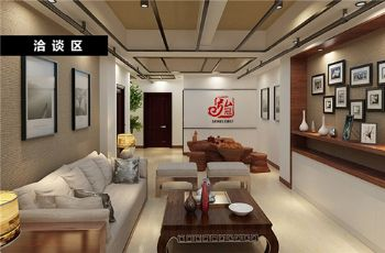 济南专业做办公楼写字楼办公室办公空间设计装修公司93453