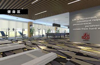 济南专业做办公楼写字楼办公室办公空间设计装修公司93452