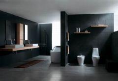时尚干净利落的卫浴空间