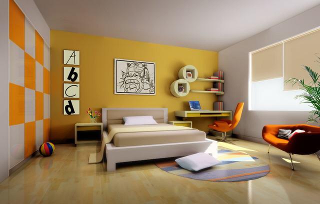 卧室效果图片欣赏-整套大图展示-风格装修效果图-八六