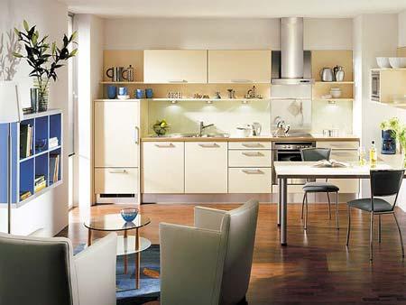 厨房空间图片 现代风格装修效果图 八六装饰网