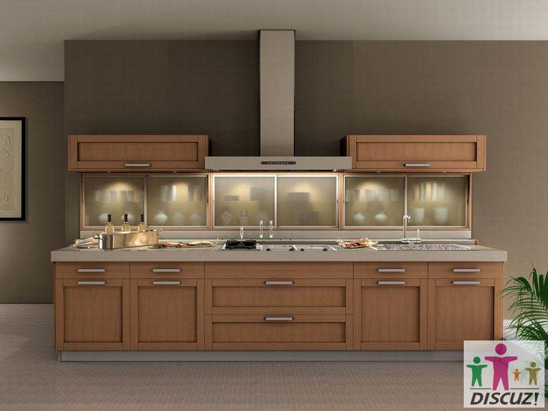 厨房图片赏析 现代风格装修效果图 八六装饰网装修效果图