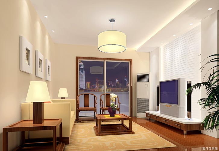 装修效果图 客厅效果图  类型:家装 风格:现代风格 面积:未注明 费用