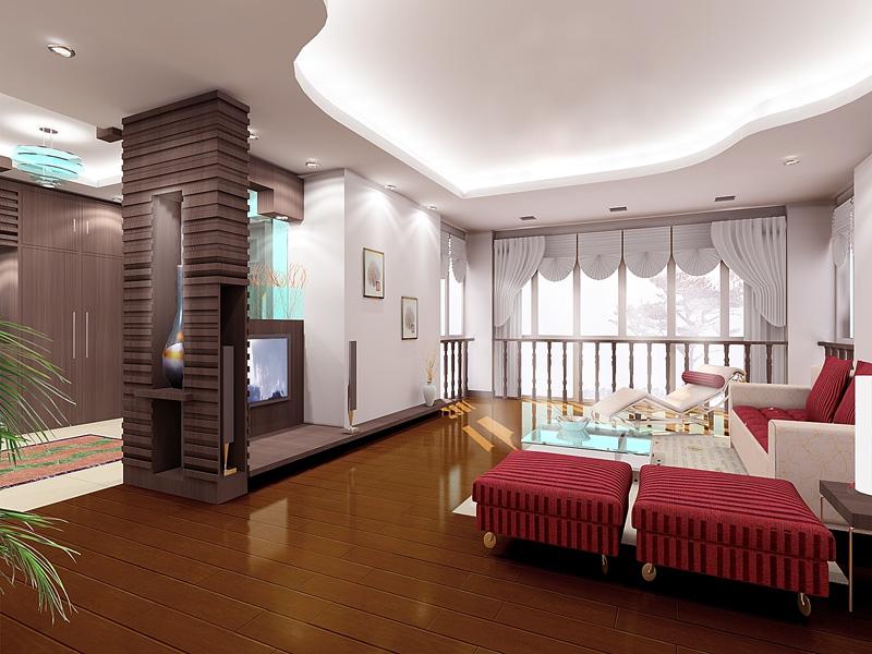 客厅效果图现代客厅装修图片