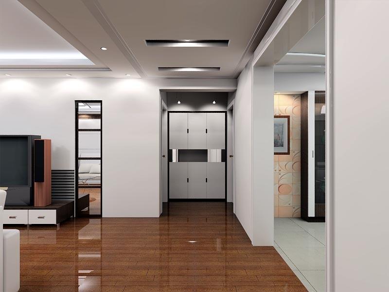 室内装饰效果图 006 客厅装修效果图 八六装饰网装修效果