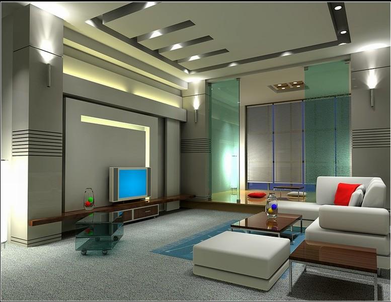 室内装修效果图图片 室内装饰效果图 010 客厅装修