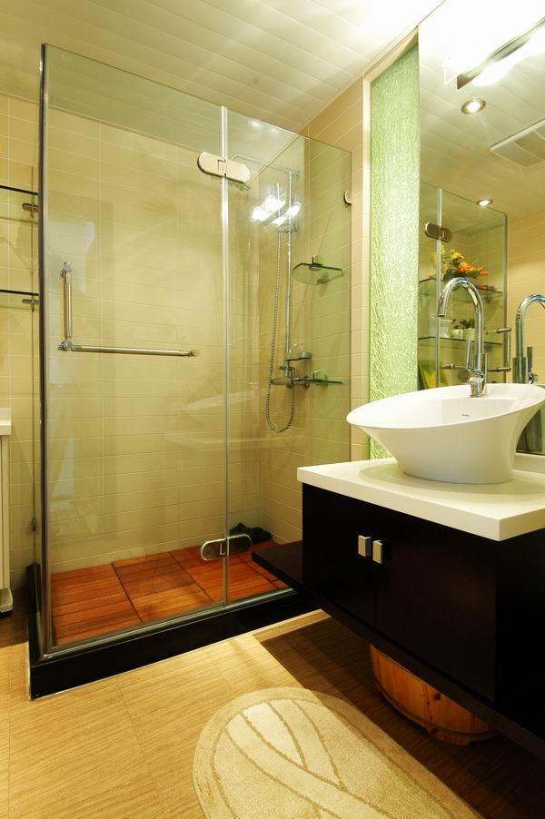 现代设计-装潢效果图(138.48平方米)(1)现代卫生间装修图片