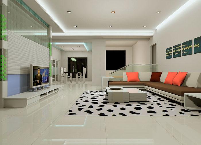 室内装饰效果图 002>-客厅装修图片