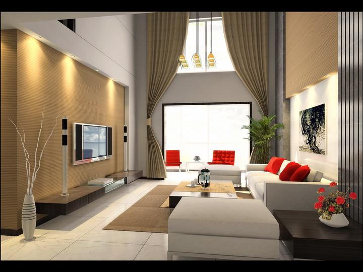 家庭装饰图片现代客厅装修图片