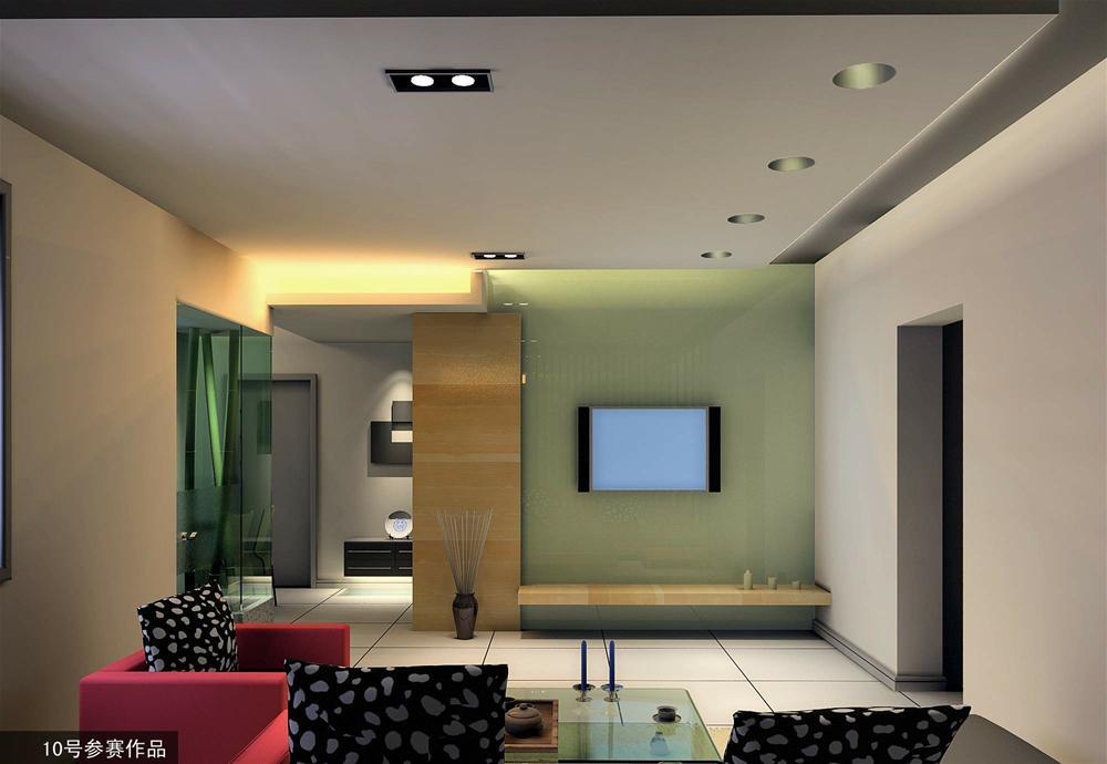 现代简约设计风格装修现代风格三居室 四室一厅温馨家 紫色温馨唯美