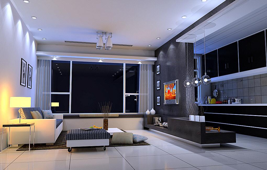客厅图片欣赏 客厅装修效果图 八六装饰网装修效果图库 www.86zsw.