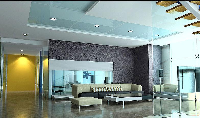 客厅实景效果图片二 整套大图展示 现代风格装修效果图 八