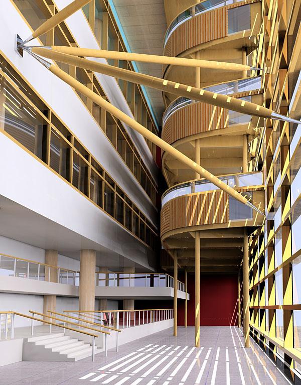 工装楼梯墙面设计