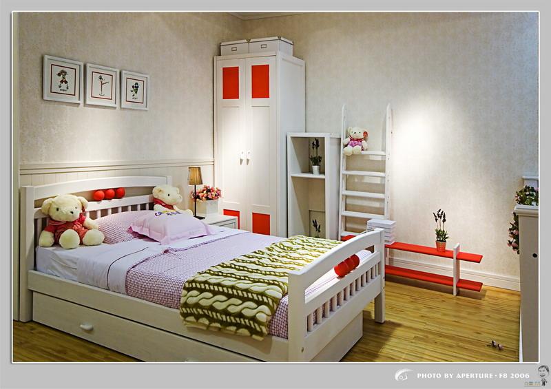 兒童房圖片整套大圖展示_現代小戶型裝修效果圖_八六