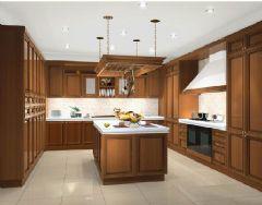 最新家居整体厨房效果图3
