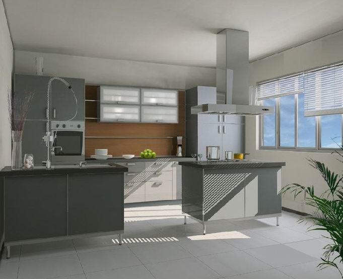 最新家居整体厨房效果图3客厅装修图片