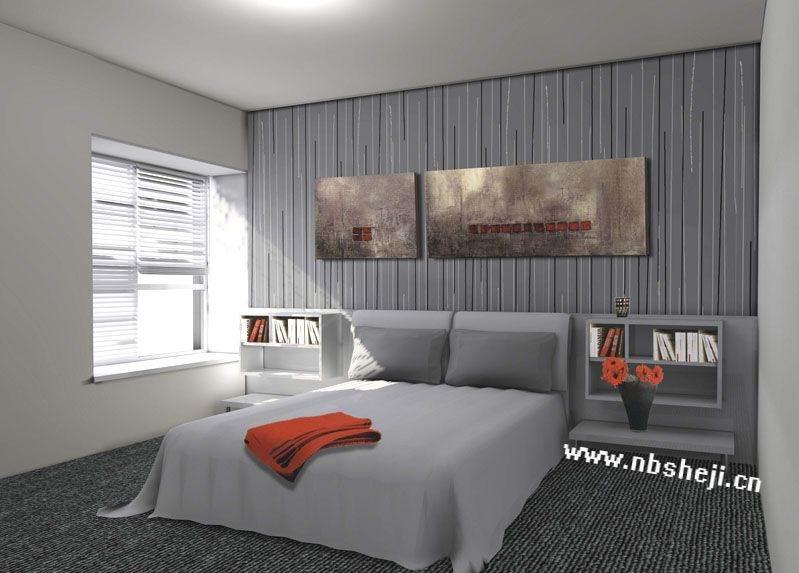 卧室装饰效果图-卧室装修图片