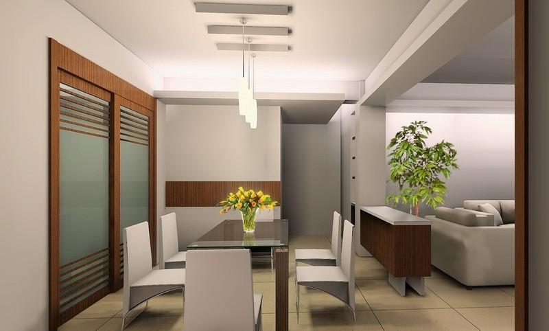 现代装修效果图 餐厅图片欣赏  类型:家装 风格:现代风格 面积:未注明