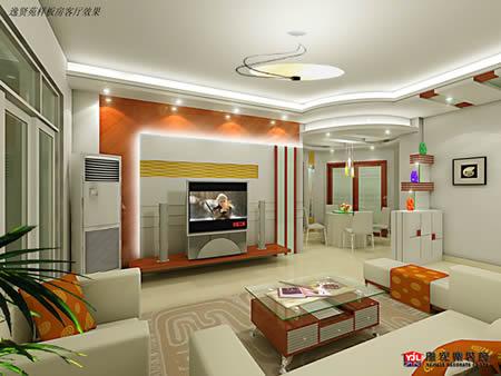客厅效果图展示 中国装饰联盟 中国装饰网,中国装修网,装修
