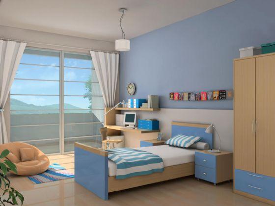 小孩房图片一览现代儿童房装修图片