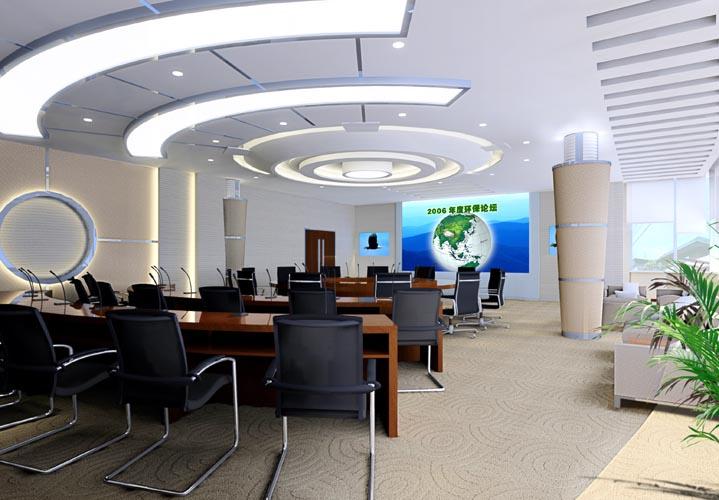 会议室装修图片一 办公装修效果图 八六装饰网装修效果图