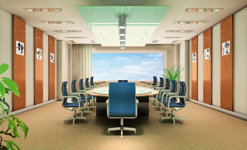 会议室装修图片一 单张展示 办公装修效果图