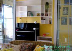 米黄味道温馨的家庭装修图片欣赏