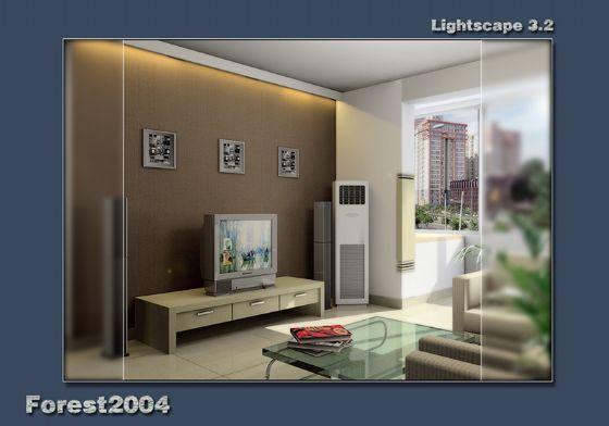 最新客厅图片欣赏_现代小户型装修效果图_八六(中国)