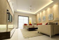 现代客厅样板图片