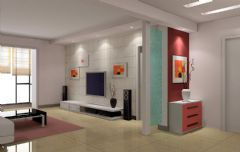 现代客厅效果图欣赏
