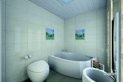 现代卫生间最流行的样板房效果图