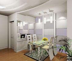 厨房餐厅效果图片