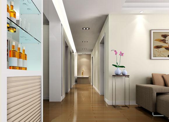 最新室内设计效果图片现代过道装修图片