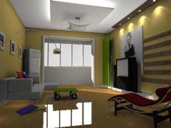 客厅效果现代风格