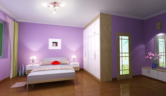 室内设计效果图现代卧室装修图片
