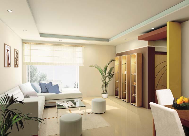 室内装饰效果图欣赏 客厅装修效果图