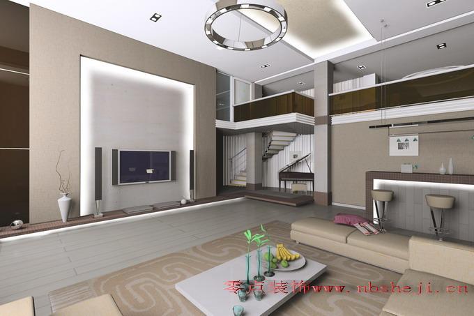 现代风格室内装饰效果图片客厅装修图片