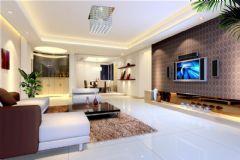 超强现代感客厅效果图片