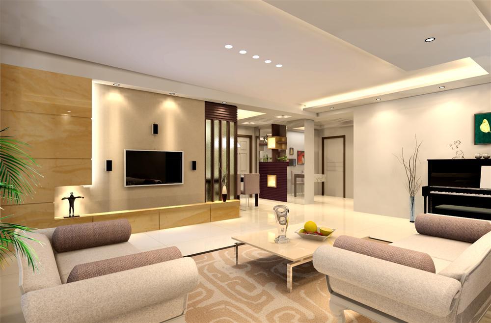 家庭客厅效果图片-客厅装修图片