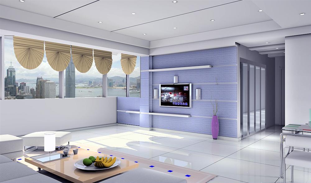 家庭客厅效果图片现代客厅装修图片