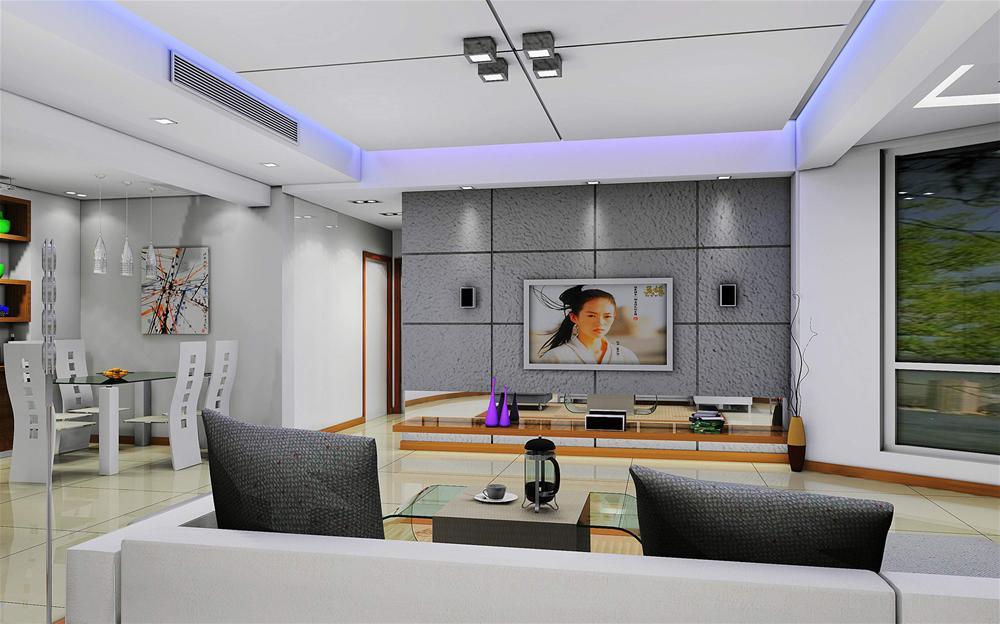 豪华客厅效果图片现代客厅装修图片