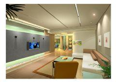刚做的几张客厅效果图,先给大家看看!!!