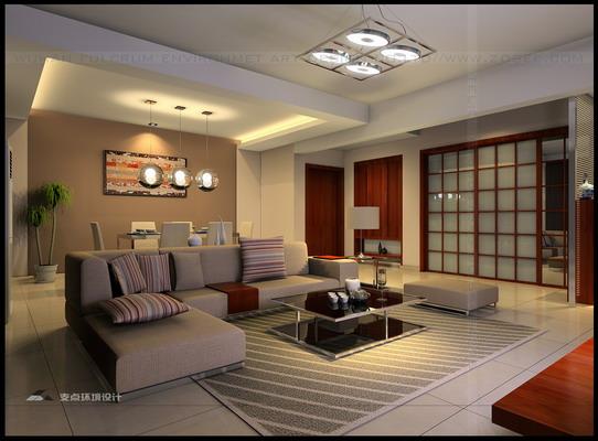 经典客厅装修设计图片整套大图展示_现代小户型装修图