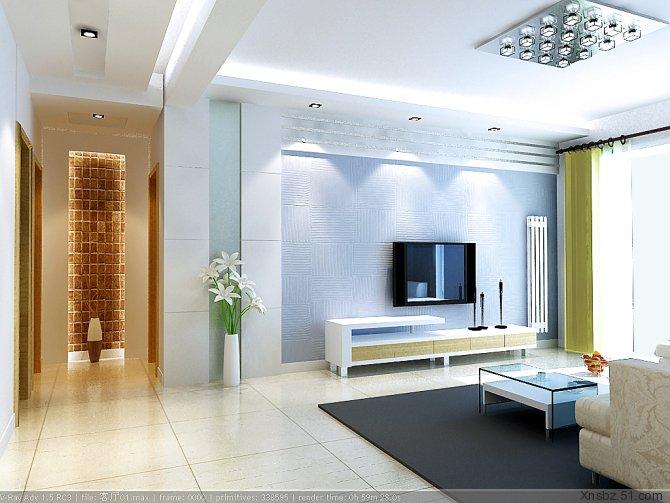 整套家装设计效果图现代 客厅 装修图片